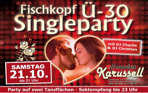 Single party karussell leer